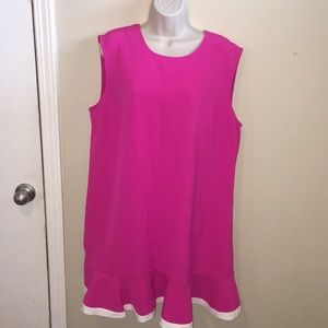 Lined Victoria Beckham Target Sleeveless Dress 1X